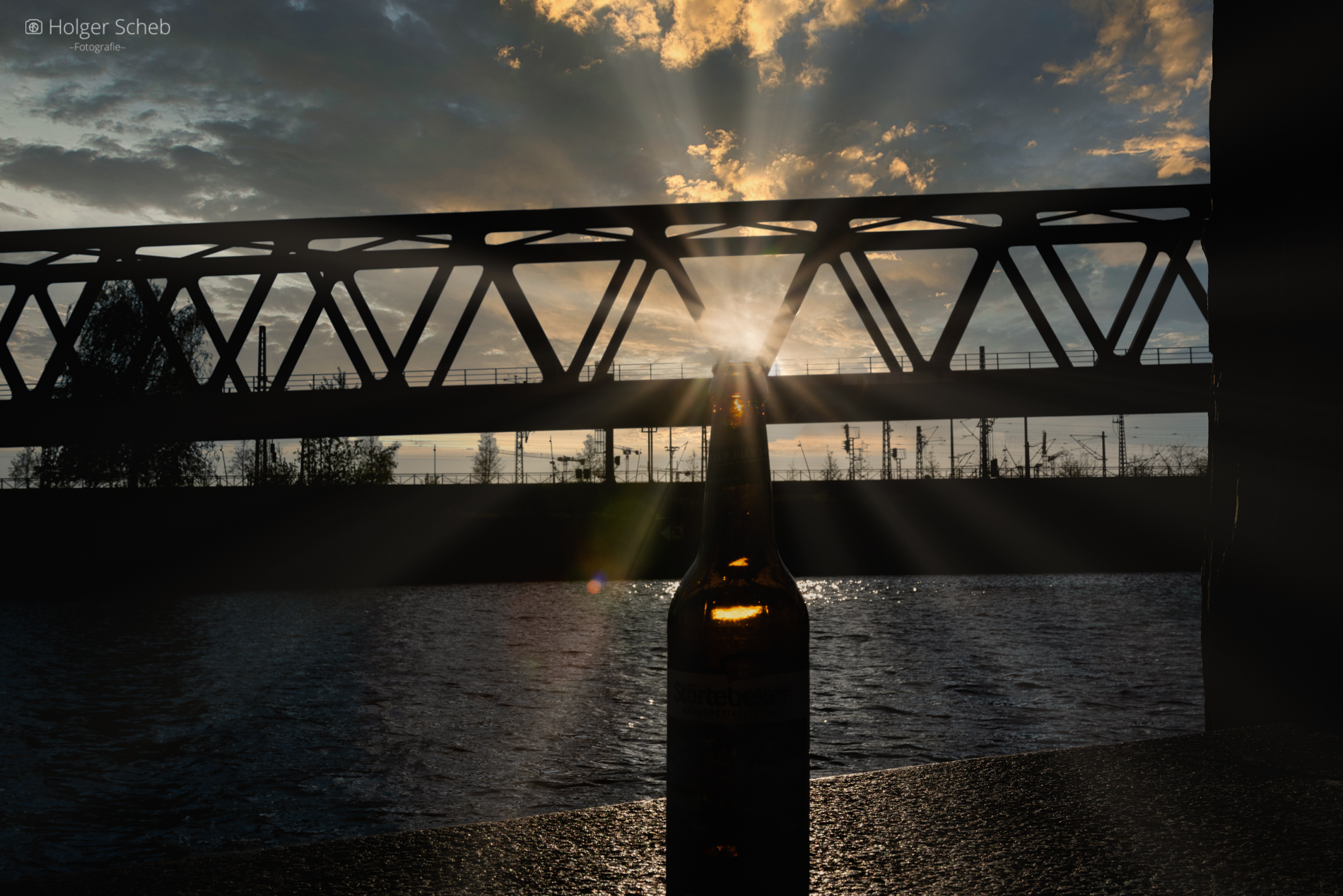 Bier und Brücke